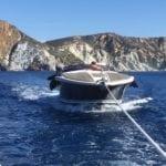 Fiamme su uno yacht, paura per una coppia di romani (LA GALLERY)