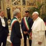 Il sindaco di Latina dal Papa: il Comune si è distinto per l'accoglienza dei migranti