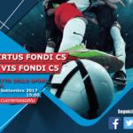 Calcio a 5, sabato derby in amichevole per la Virtus Fondi
