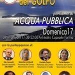 """Festa dei Meetup del Golfo per parlare di """"acqua pubblica"""""""