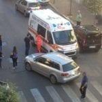 Auto contro maxi-scooter, 39enne elitrasportato a Latina