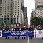 Volontari Anc pronti a partire per partecipare al Columbus Day