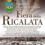 Torna a Cisterna la secolare Fiera della Ricalata