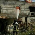 Incendio in un casolare in via Parchetto a San Cosma: ferita una donna (#video)