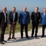 A Cori una delegazione della Gendarmeria Forestale romena