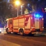 Carambola mortale in via del Lido e la moto prende fuoco. Interviene il personale del 115