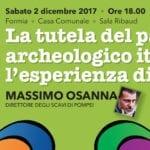 La tutela del patrimonio archeologico italiano, l'incontro a Formia