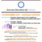 Giornata mondiale del diabete: a Fondi uno screening gratuito
