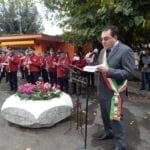 I saluti del sindaco di Aprilia al Prefetto Faloni