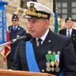 Al Comando Marittimo Sud della Marina Militare l'ammiraglio Vitiello, originario di Ponza
