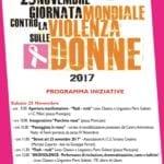 Le iniziative del comune di Fondi per la giornata contro la violenza sulle donne