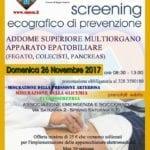 A Spigno la giornata dedicata allo Screening Ecografico dell'addome