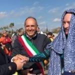 La disabilità non è un ostacolo: da Ponza a San Felice Circeo a nuoto