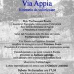 """A Formia l'incontro su """"L'Appia itinerario da valorizzare"""""""
