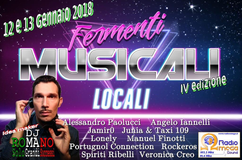 Fermenti musicali locali quarta edizione dietro l for Nomi di locali famosi