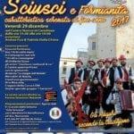"""""""Sciusci & Formianità"""", il 29 dicembre nel centro storico di Castellone"""