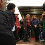 """Inaugurata la """"Casa di Giovanna"""" nell'area ex Enaoli"""