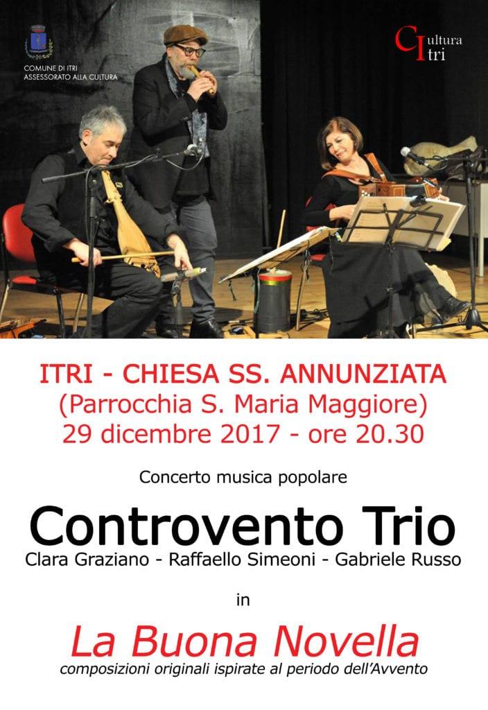 Controvento Trio Itri H24 Notizie Portale Indipendente Di News