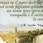 'Sulle orme di J.W. Goethe': il nuovo itinerario storico-naturalistico cittadino