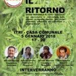 """""""Canapa, il ritorno"""", convegno a Itri il 5 gennaio con il M5S"""
