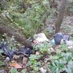 Scoperta l'ennesima discarica nel bosco, questa volta al Circeo (VIDEO)