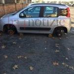 Nuovo colpo a Formia, i furti di ruote non si fermano più
