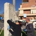 Atti vandalici in Piazza Dante, ripulitura quasi completa