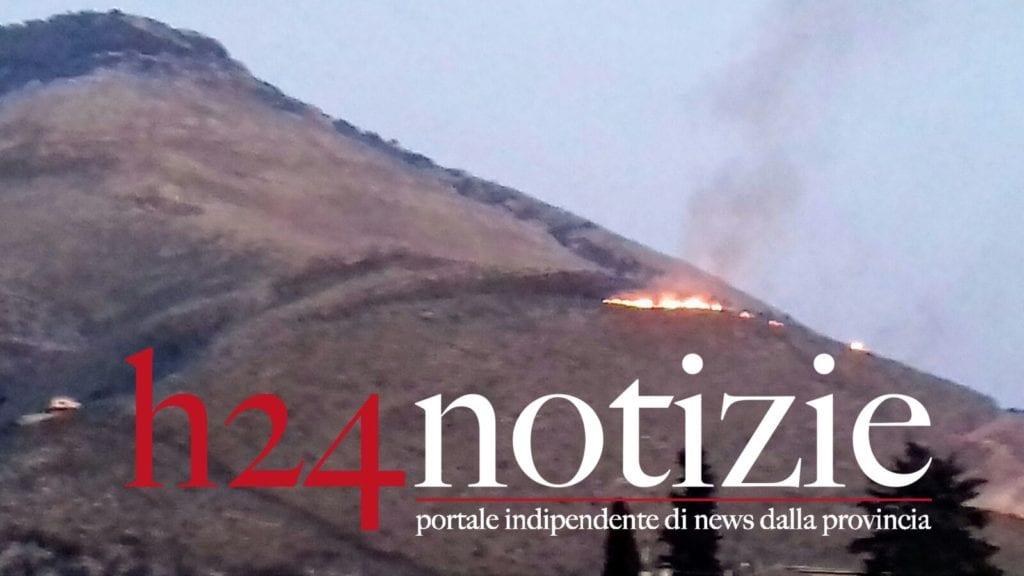 Itri Incendio Montagna 27 Gennaio 2017 H24 Notizie Portale