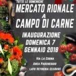 Aprilia, l'inaugurazione del nuovo mercato rionale a Campo di Carne