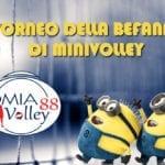 Torneo della Befana con l'Omia Volley Cisterna 88