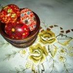 Le uova colorate per la Pasqua Ortodossa