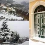 Suggestioni di inverno: Campodimele, 26 febbraio 2018 – Collage