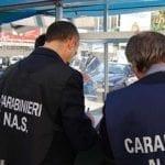 Blitz del Nas a Terracina, sequestri in un bar-pizzeria e in un supermercato
