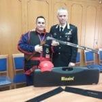"""Carabiniere del Comando di Latina ai campionati europei e mondiali di """"Compak Sporting"""""""