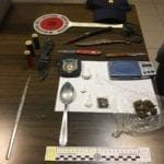 Formia, spaccio di droga a Largo Paone: arrestato un 20enne