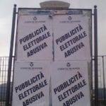 """Fondi, è polemica sulle """"affissioni elettorali"""" tra Pd e Comune"""
