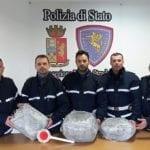 Viaggiava in A1 con 10 kg di marijuana: arrestato 34enne di Pontinia