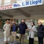 Elezioni Lazio, l'aspirante presidente di CasaPound negli ospedali di Gaeta e Minturno