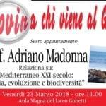Al Gobetti di Fondi, arriva il biologo marino Madonna