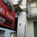 Itri, incendio in un'abitazione: tempestivo intervento dei vigili del fuoco