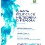 """""""Quanta politica c'è nel teorema di Pitagora"""", incontro in Comune a Latina"""