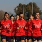 Europeo U19 di calcio, la nazionale femminile in ritiro a Formia