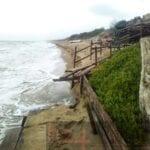 Nuova conta dei danni sul lungomare dopo la mareggiata