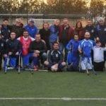 Fondi, la Nazionale di Calcio Italiana Amputati all'SP Academy