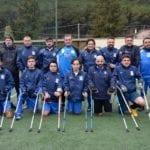 """""""Stampelle azzurre"""" a Lenola tra allenamenti amichevoli e testimonianze"""