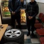 Ladri di ruote, due arrestati dai carabinieri – VIDEO