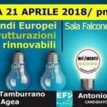 Energia a 5 Stelle: rinnovabili, efficienza e fondi europei