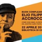 Buon compleanno ad Elio Filippo Accrocca, poeta corese