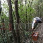San Felice Circeo, auto vola nel dirupo: grave una donna