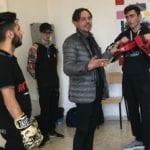 Il ring contro bullismo, omofobia e ogni altra forma di prevaricazione: la lezione del maestro Romano